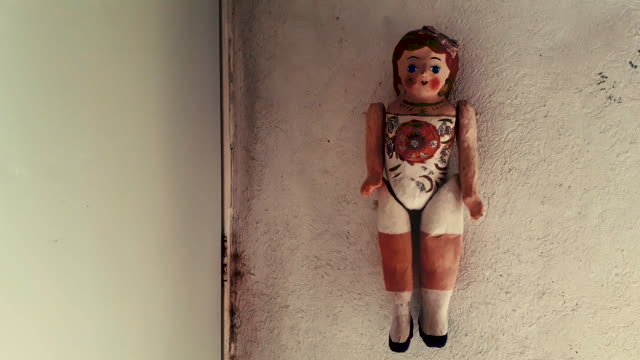 handmade doll, creepy