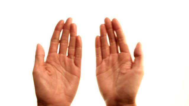 Hands: book gestures video