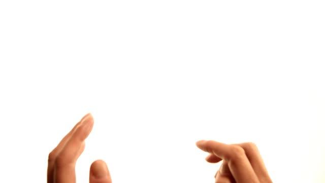 手:チェルフィッチュしてドラッグします。 - プロジェクトマネージャー点の映像素材/bロール