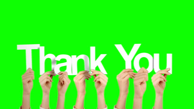 Hands holding up thank you Hands holding up thank you on green screen background thank you stock videos & royalty-free footage