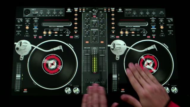 Hands on DJ Turntable
