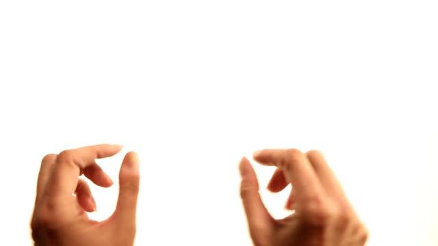 手:ピンチチェルフィッチュ - プロジェクトマネージャー点の映像素材/bロール