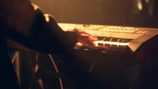 hands playing the white piano - classical architecture stock videos & royalty-free footage