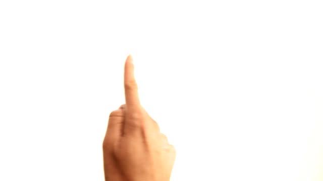 Hands: tablet gestures video