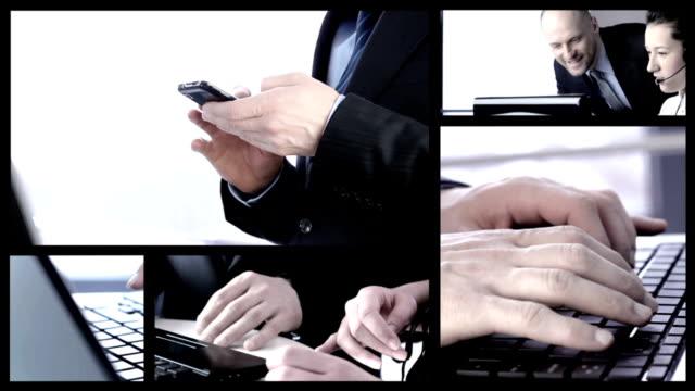 Handshake in business. video