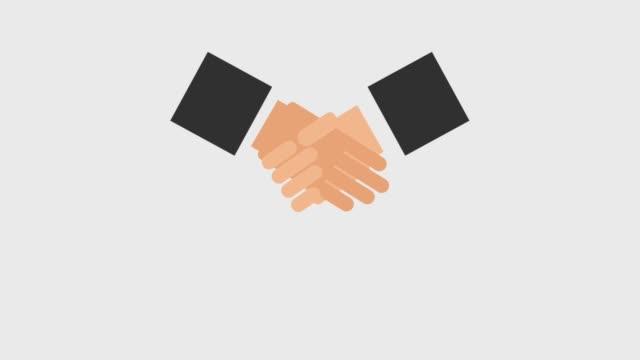 handshake tumbling icons video