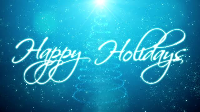 Handwritten Happy Holidays
