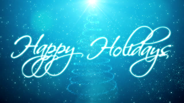 Handwritten Happy Holidays http://i.imgur.com/IWBKq.jpg holiday stock videos & royalty-free footage