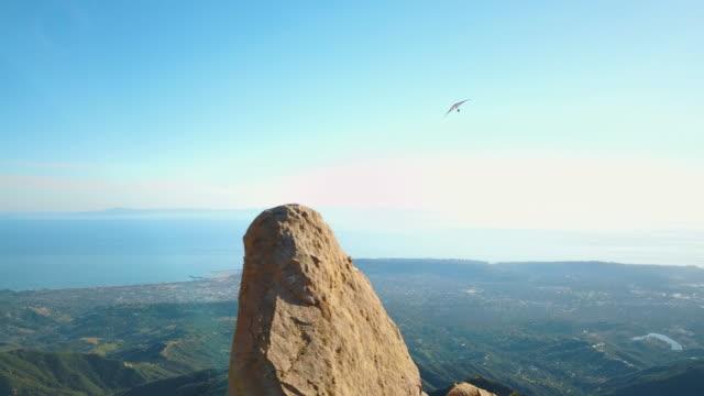 Hang Glider Santa Barbara California Aerial