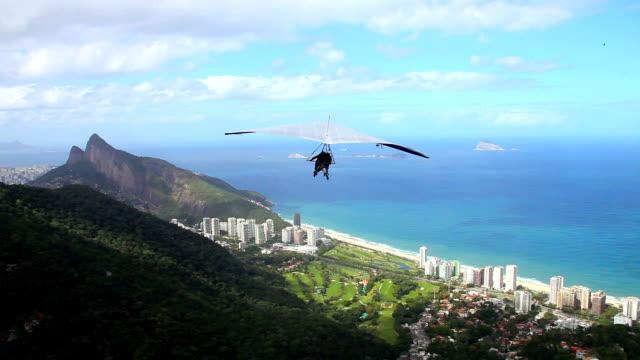 Hang gliding video