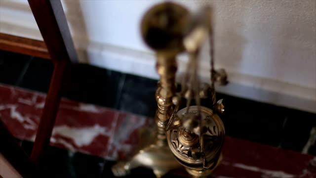 Hanging incense burner video