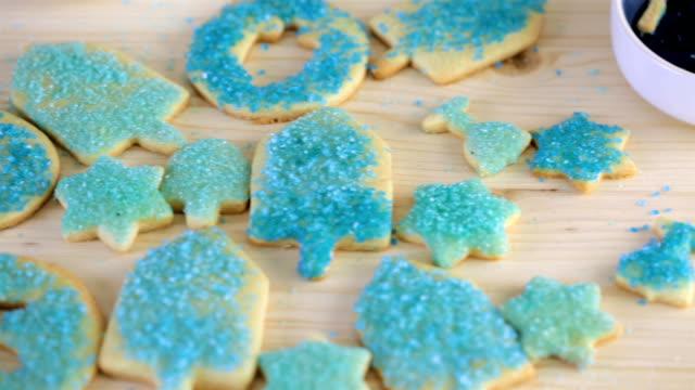 vídeos y material grabado en eventos de stock de galletas hanukkah - hanukkah