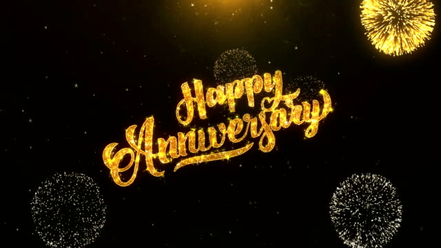 Best Happy Anniversary Text Stock Videos and Royalty-Free Footage