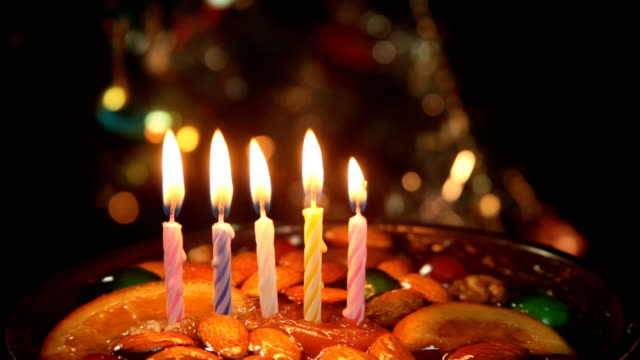 Happy Birthday 5 Year Cakehd1080p Ntsc Stock Video More Clips Of
