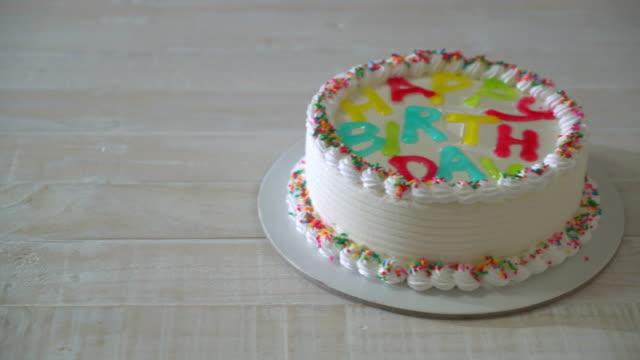 happy anniversaire gâteau - Vidéo