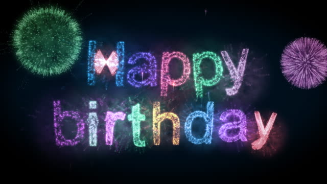 Happy Birthday  happy birthday stock videos & royalty-free footage