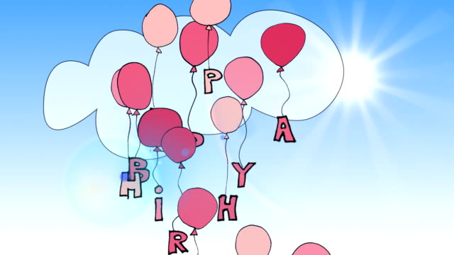 Royalty Free Birthday Card Hd Video 4k Stock Footage B Roll Istock