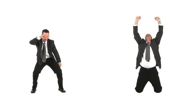 LAZO DE HD: Feliz hombre de negocios - vídeo