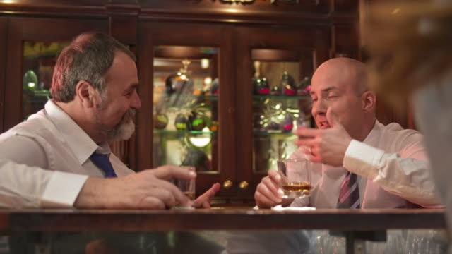 HD: Happy Businessmen Celebrating Success video
