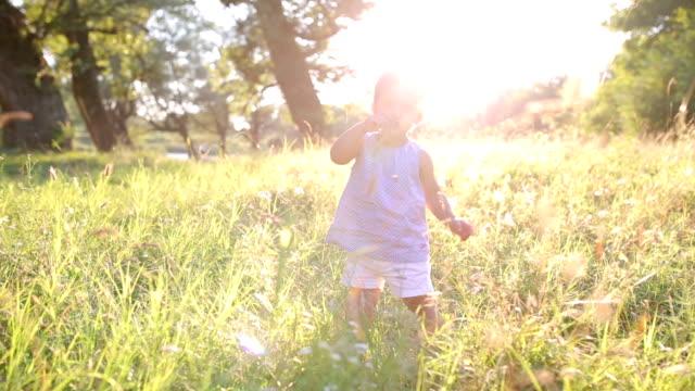 Happy childhood. video