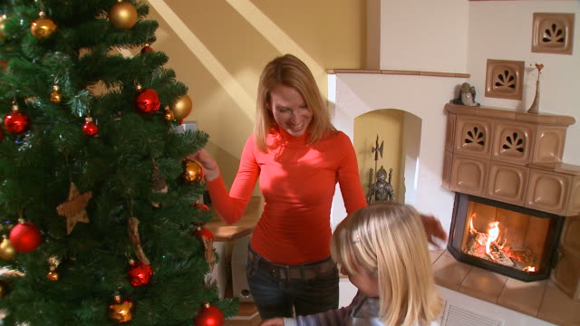 HD CRANE: Happy Christmas video