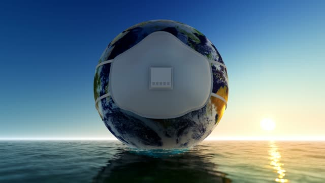 happy earth day 3d animation concept - earth day stock videos & royalty-free footage