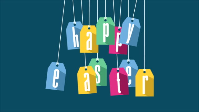 Happy easter Video animation video