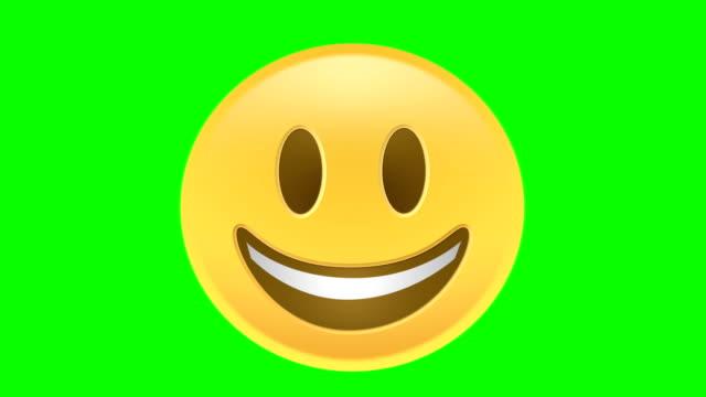 happy emoji - emoji video stock e b–roll