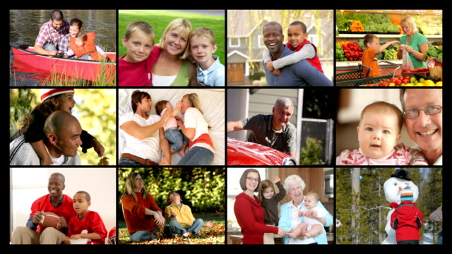 Happy Families, video montage video