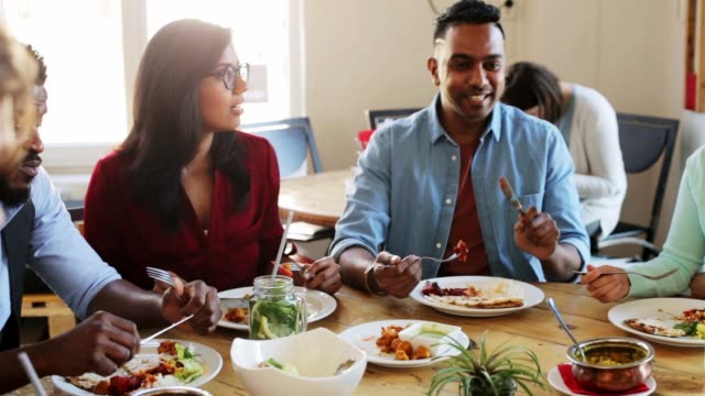 Indian Family Eating Dinner Stock Videos and Royalty-Free Footage ...