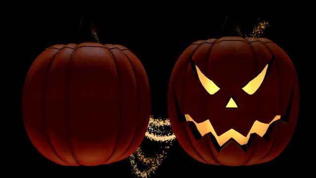 Happy Halloween Jack-o'-Lanterns video