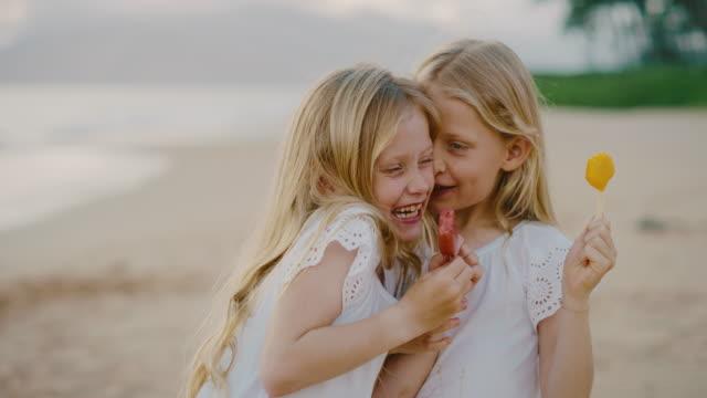 Happy Little Girls Summer Lifestyle
