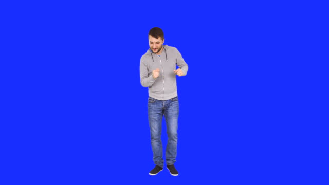 Happy Man dancing video