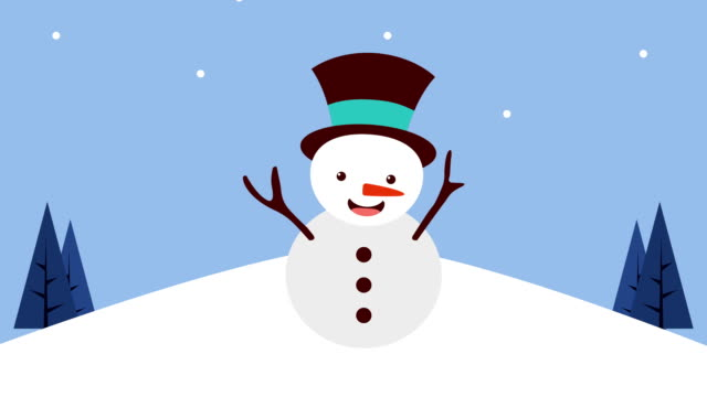 happy merry christmas card with snowman happy merry christmas card with snowman,FullHD video animation snowman stock videos & royalty-free footage