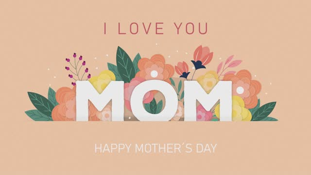 Happy mothers day i love you mom wishes and greeting card message for mom. Cute presentation quote handwritte. Gift animation pastel colors and floral bouquet Happy mothers day i love you mom wishes and greeting card message for mom. Cute presentation quote handwritte. Gift animation pastel colors and floral bouquet 4k mothers day stock videos & royalty-free footage