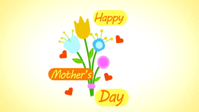 happy mother's day - mothers day stock videos & royalty-free footage