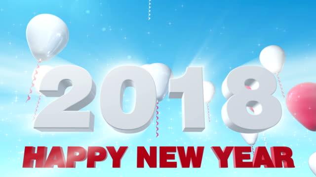 Feliz Año Nuevo de 2018 - vídeo