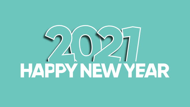 Happy New Year 2021 Happy New Year 2021 happy new year 2021 stock videos & royalty-free footage
