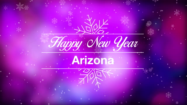 Happy New Year Arizona video