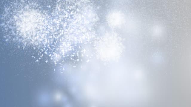 vídeos y material grabado en eventos de stock de 2020 feliz año nuevo celebración fuegos artificiales fondo azul - anniversary