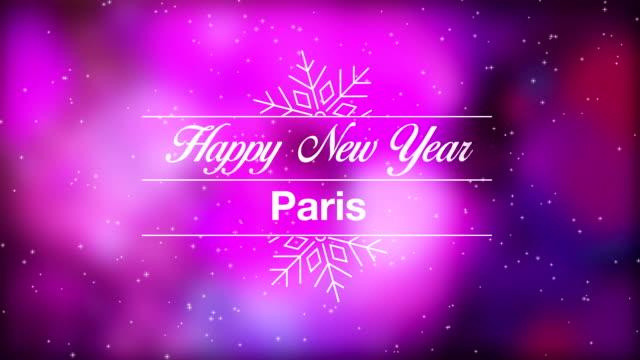 Happy New Year Paris video