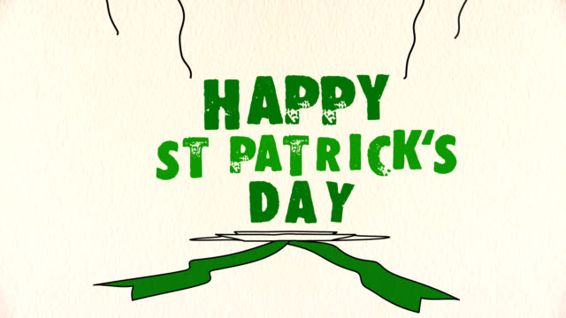 Happy St Patrick's Day greeting video