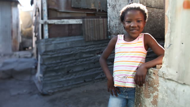 Happy Township Girl Portrait video