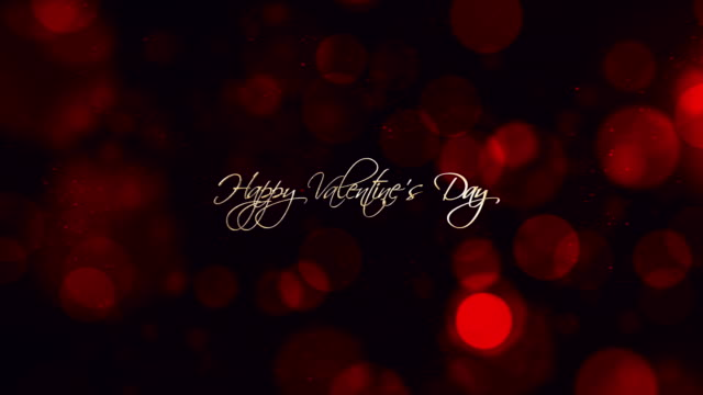 happy valentine's day background 4k - valentines day stock videos and b-roll footage