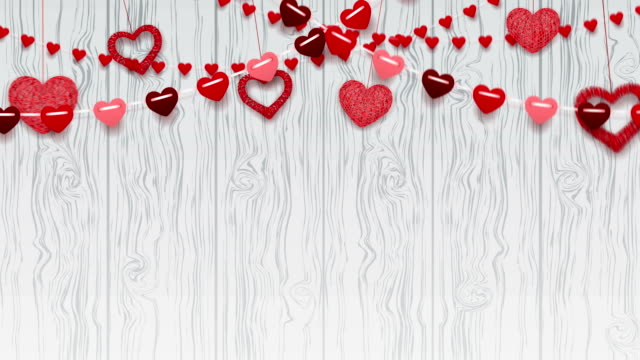 happy valentine's day greeting background - valentines day stock videos and b-roll footage