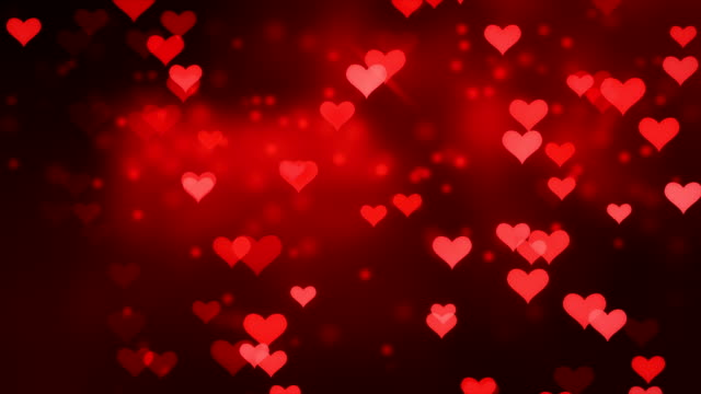 Happy Valentines Day, Valentine's Day Abstract Background 4K
