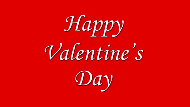 Happy Valentine's Day video