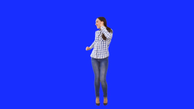 Happy Woman dancing video