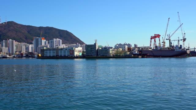 Harbor  of Nampodong in Busan city