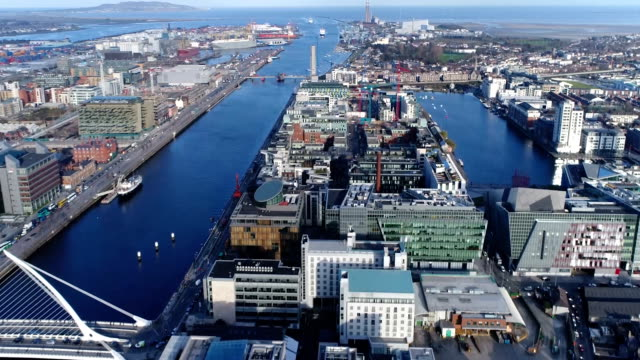 Harbour and Dublin Bay - East video